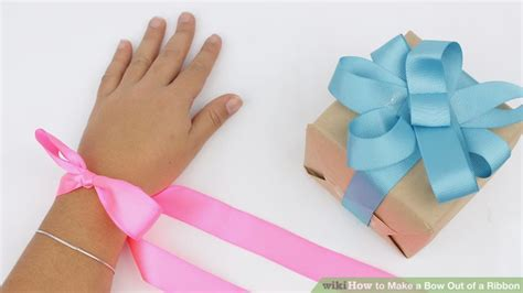 make a bow out of ribbon 4 ways to make beautiful ribbon bows wikihow