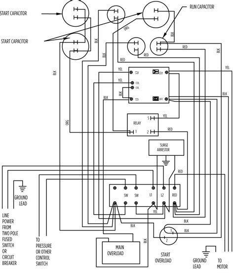 wire submersible  pump wiring diagram gallery