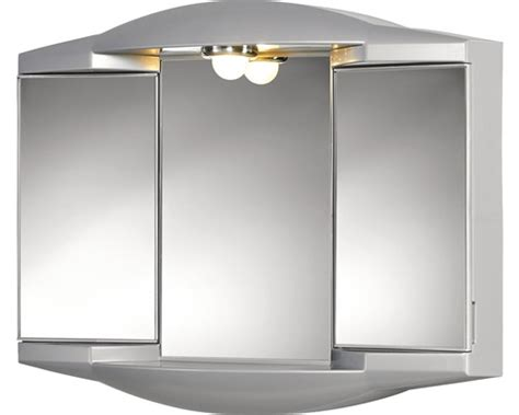 Badezimmer Spiegelschrank Hornbach by Spiegelschrank Sieper Chico Gl Silbermetallic 62x52 Cm Bei