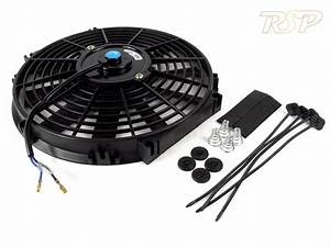 12 U0026quot  12 Inch Slim Line Universal Electric 12v Radiator  Intercooler Cooling Fan