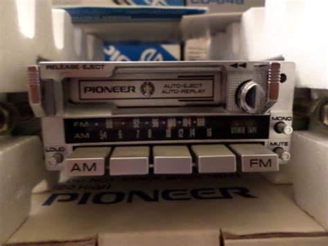 Vintage Pioneer Car Stereo