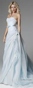 2014 wedding inspiration pale blue wedding dresses for Pale blue wedding dress