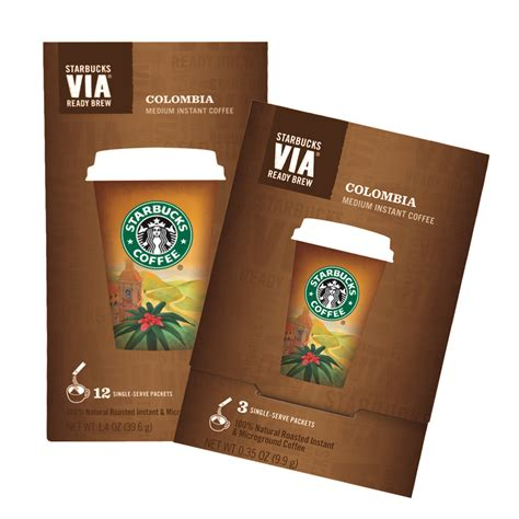 Get starbucks® cold brew coffee pitcher packs at your local starbucks store or online. Starbucks' New VIA Ready Brew Coffee