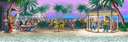 Fighter Street Background Super Turbo Ii Arcade