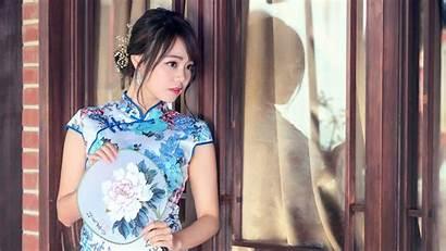 Cheongsam Chinese Asian Kimono Wallpapers Beauty China