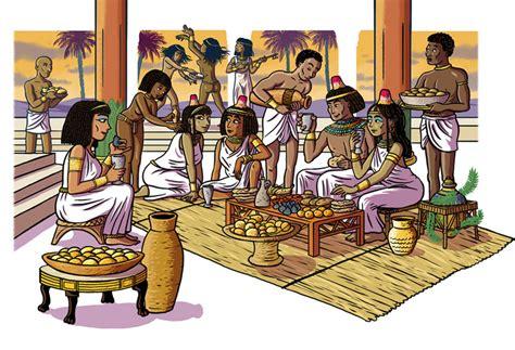 chambre couleurs ancien empire antiquité égypte antique histoire du monde