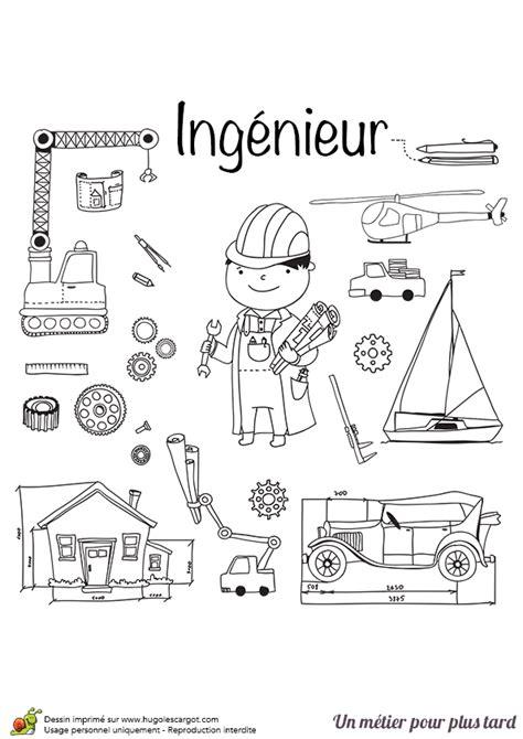 jeux de cuisine avec gratuit coloriage métier ingénieur hugolescargot com