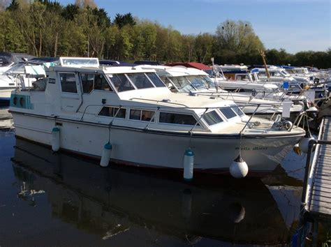 Cabin Boats For Sale Uk by Birchwood 29 Aft Cabin Boat For Sale Quot Stella Marie Quot At