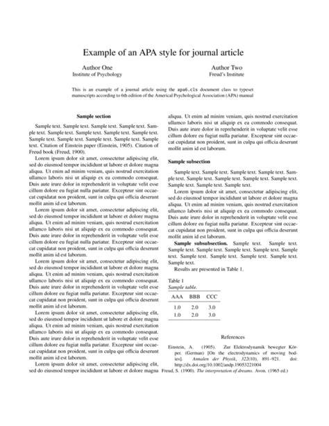 American Psychological Association Resume Format by Apa Template Sharelatex Editor
