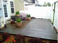 magnificent design patio ideas pavers Magnificent Basic Concrete Patio Design Ideas - Patio ...