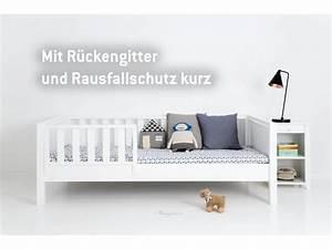Kinderbett 90x200 Mit Rausfallschutz : sanders fanny einzelbett 90 x 200 weiss ~ Bigdaddyawards.com Haus und Dekorationen