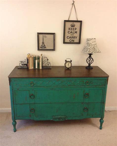 best 25 turquoise dresser ideas only on pinterest