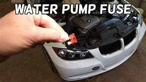 Coolant Water Pump Fuse Location And Replacement Bmw E90
