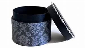 Boite Cadeau Ronde : comment fabriquer une boite ronde avec couvercle diy ~ Teatrodelosmanantiales.com Idées de Décoration