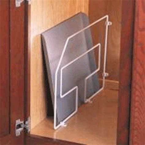 tray dividers for kitchen cabinets knape and vogt tray divider 18 1 4 quot h white td18 w 8587