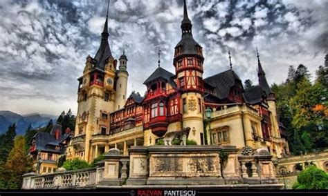 spectacular peles castle  romania part  family