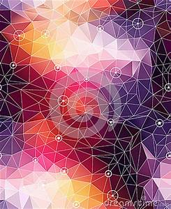 Seamless Abstract Triangle Colorful Pattern Backgr Royalty