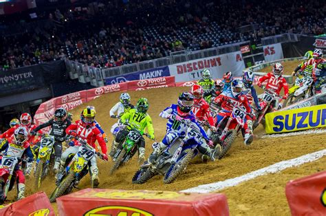 what channel is the motocross race on 2018 monster energy supercross chionship races into
