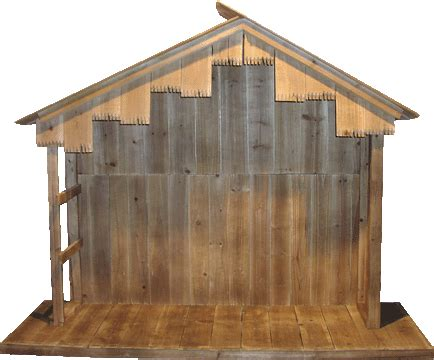 nativity stable  nativity stable  tall   wide   deep perfect