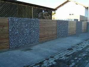 Mur De Cloture En Gabion : gabions vert d 39 esprit ~ Edinachiropracticcenter.com Idées de Décoration