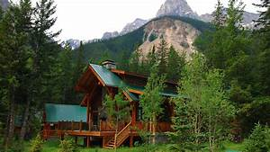 Image Gallery mountain cabin wallpaper