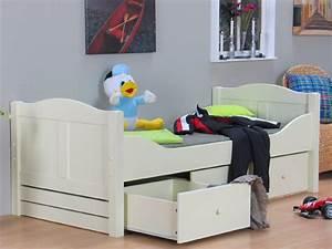 Bett Hochglanz Weiß 90x200 : kinderbett weis 90x200 die neuesten innenarchitekturideen ~ Markanthonyermac.com Haus und Dekorationen