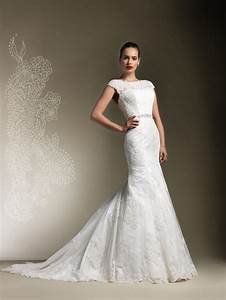 lace back wedding dress a hip trend for glamorous style With lace wedding dress designers