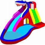 Water Clipart Clip Slide Splash Animated Transparent