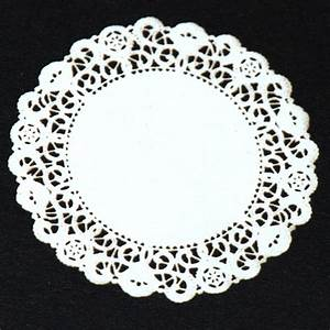 Large White Lace Doily #23 Stewart Dollhouse Creations