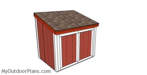large generator shed roof plans myoutdoorplans  woodworking plans  projects diy shed
