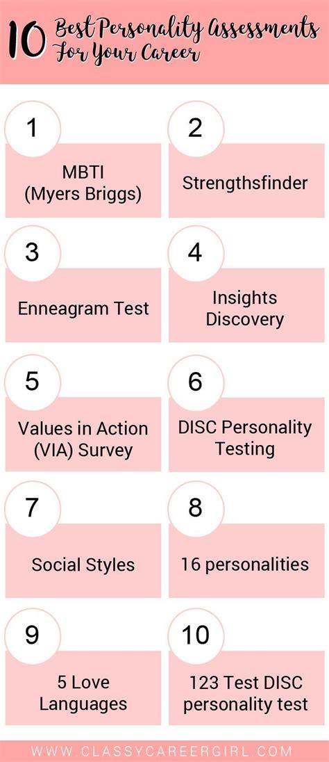 personality assessment ideas  pinterest