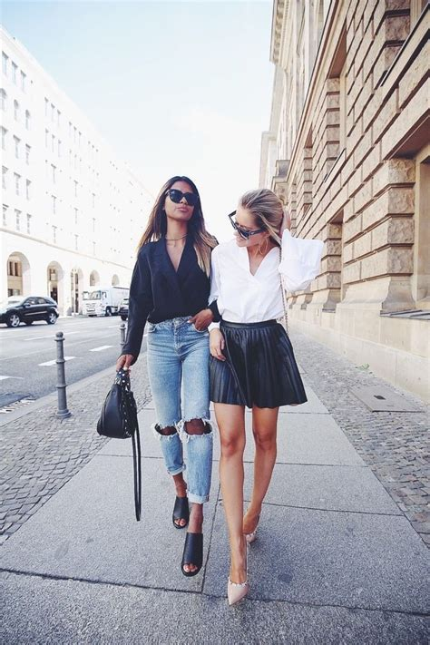 ideas  leather skirt outfits  pinterest