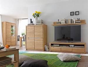 Wohnzimmer Eiche Massiv : wohnzimmer pisa 54 eiche bianco massiv 4 teilig wohnwand wohnm bel wohnbereiche wohnzimmer ~ Markanthonyermac.com Haus und Dekorationen