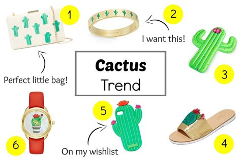 10 Ways Work Cactus Trend by 6 Ways To Work The Cactus Trend Rosey Everyday