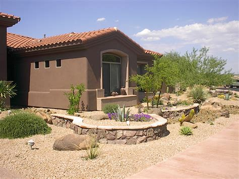 desert front yard landscaping featured project gallery