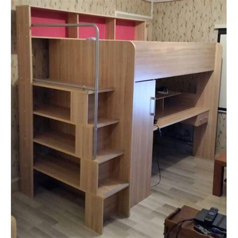 lit mezzanine avec bureau conforama excellent lit mezzanine conforama with mezzanine bois