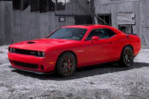 Alfa img - Showing > Red Dodge Challenger Hellcat