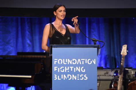 foundation fighting blindness irina shayk photos photos foundation fighting blindness