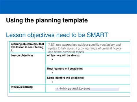 features  english lesson planning   light