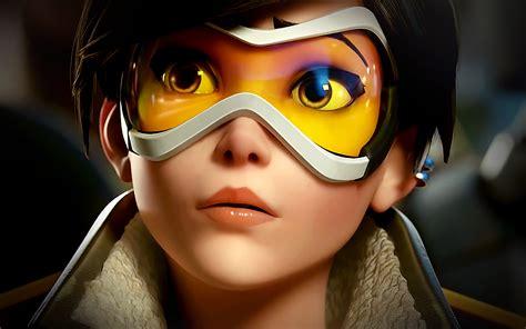ar overwatch tracer england game art illustration wallpaper