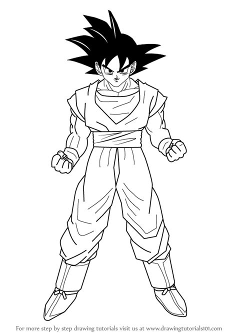 draw goku  dragon ball  video