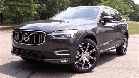 volvo xc60 inscription 2018 volvo xc60 t6 inscription start up road test in