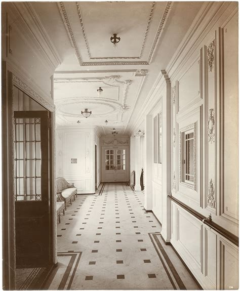 Third Class Dining Room On The Titanic by Titanic Archives The Bowery Boys New York City History