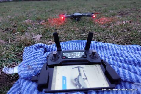 dji mavic pro quatrocopter motorradreisefuehrerde rezensionen und tests werbeunabhaengig