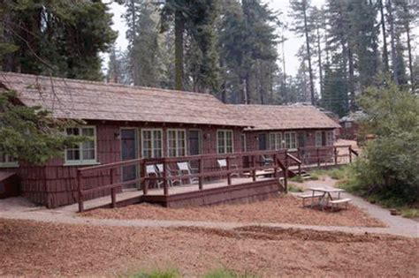 Historic Grant Grove Cabins  National Park Central
