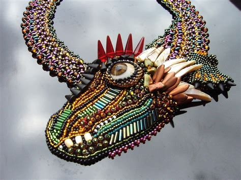 17 Best Images About Beads/ Dragons And Other Monsters On