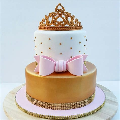 pink and gold baby shower cake 1000 ideas about tiara cake on princess cakes