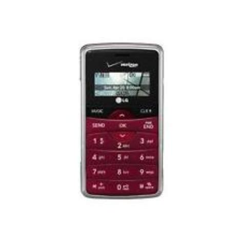 basic verizon phones lg new lg env2 vx9100 maroon verizon qwerty 3g basic