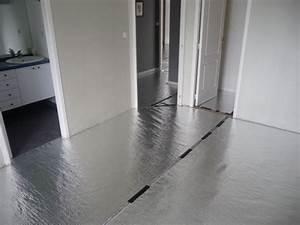 Isolant Sous Chape : sous couche isolant thermo acoustique ref gl150 ~ Melissatoandfro.com Idées de Décoration