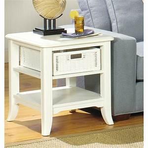 the simple stores antique white rectangular end table With antique white coffee tables end tables